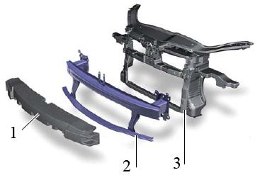 Элементы кузова для защиты пешеходов
