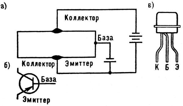 Схема германиевого транзистора