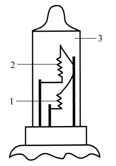 схема галогенной лампы: 1