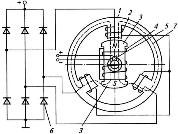Схема вентильного генератора
