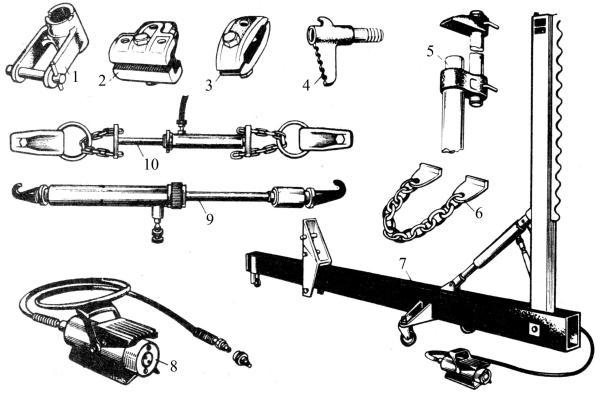 Приспособления для рихтовки кузова автомобиля своими руками 269