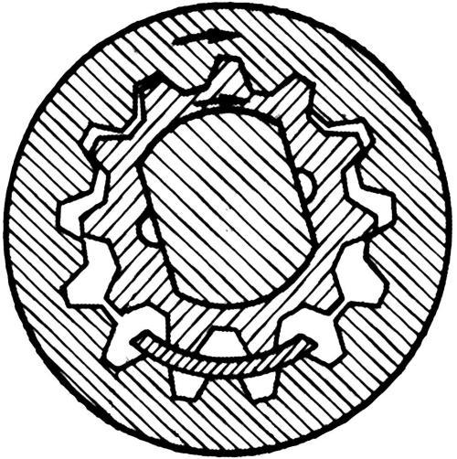 Схема масляного насоса с