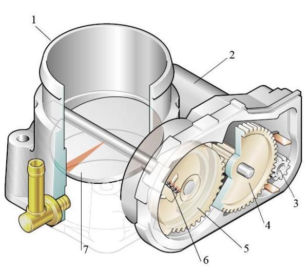 Схема привода дроссельной заслонки фото 83