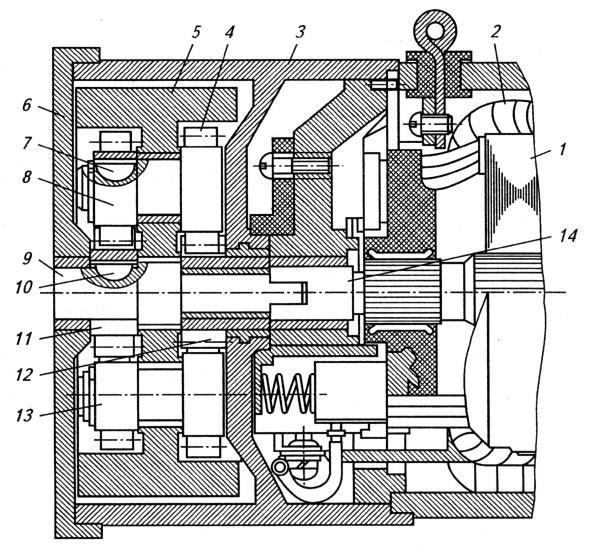 3 – корпус мультипликатора