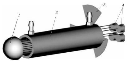 Схема оптическая газоанализатора АВГ-4