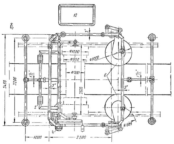 Механизированная установка ГАРО модели 1129 дли мойки автобусов