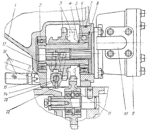 насоса гидросистемы МТЗ-80