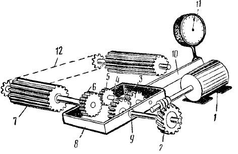 Схема тормозной каретки с