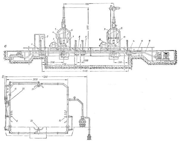Струйная автоматическая установка модели 1114