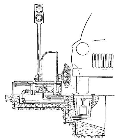 Установка ГАРО модели 1144 для мойки дисков колес