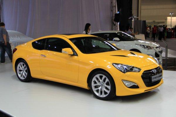 Hyundai Genesis Coupe F L Автомобильные Новости