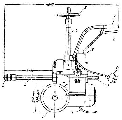 Электромеханический гайковерт