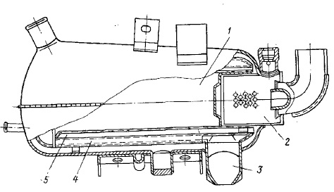 Схема котла подогревателя П-