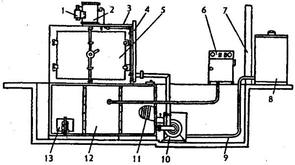 Схема моечной машины ОМ-1366Г-