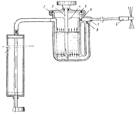 Принципиальная схема подобного пускового устройства показана на рисунке.
