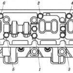 Сборка и установка головок цилиндров на двигатель