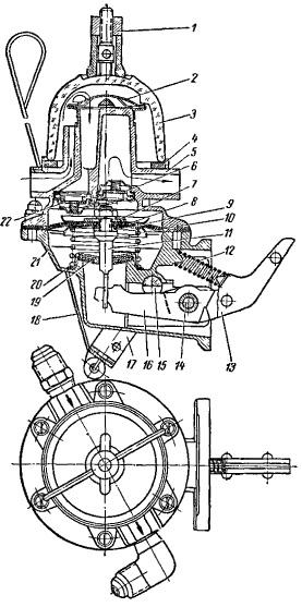 6 — нагнетательный клапан;