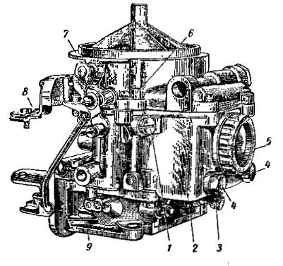 Внешний вид карбюратора К-126П