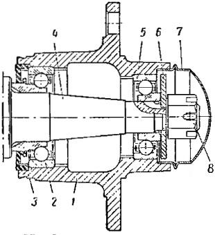 Ступица переднего колеса ВАЗ 211 : особенности