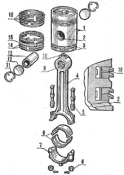 механизма ЯАЗ-204