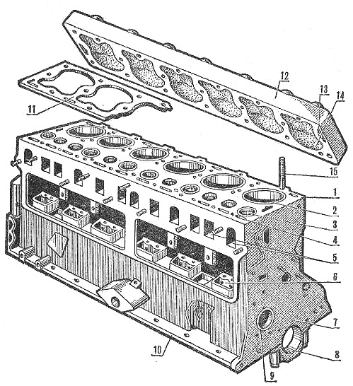 Схема двигателя д 260 фото 640