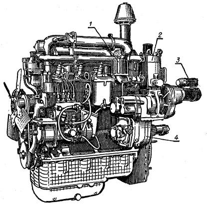 Двигатель Д-240Л
