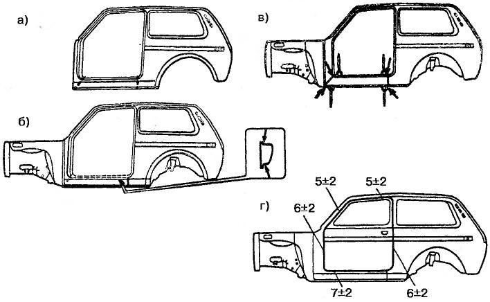 автомобилей ВАЗ-2121