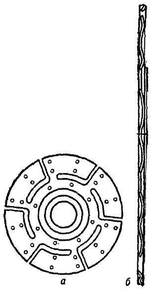 Схема ведомого диска сцепления