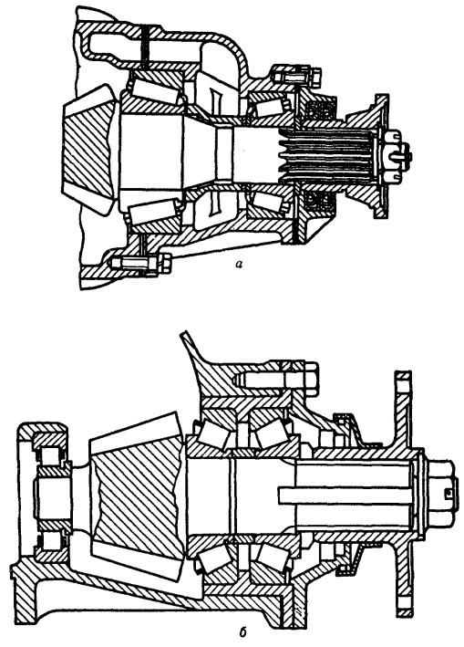 Схема главной передачи