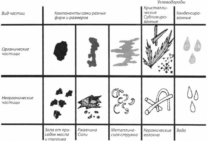 Состав частиц