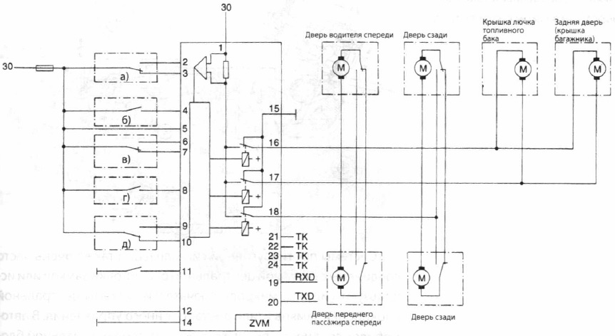 Электрическая схема «Система