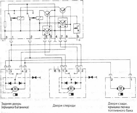 Электросхема «Система