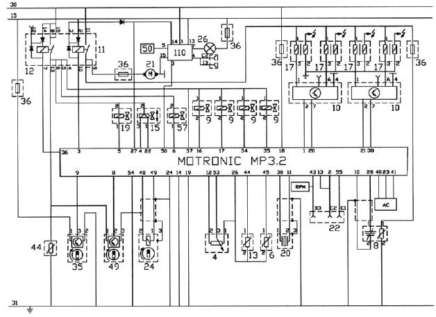 ситроен ксантия схема двигателя