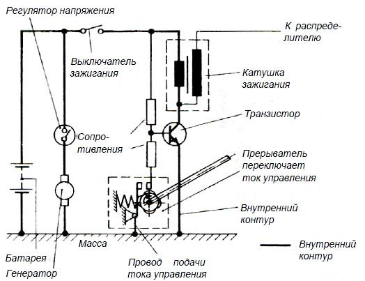 Транзисторная индуктивная