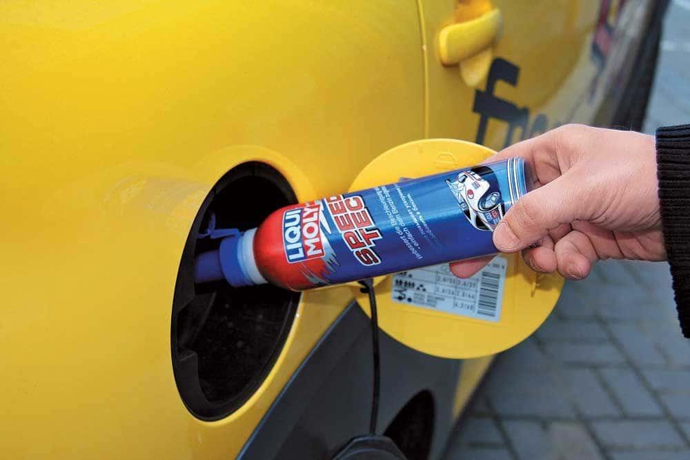 Жидкость для добавки в топливо