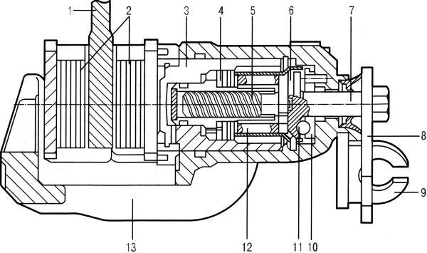 Механизм стояночного тормоза