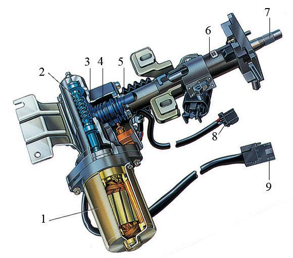 Электроусилитель рулевого управления на примере автомобиля Opel Corsa