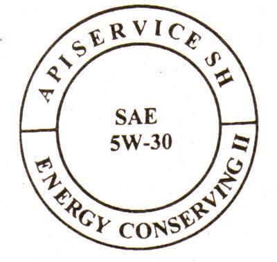 Символ маркировки SAE-API