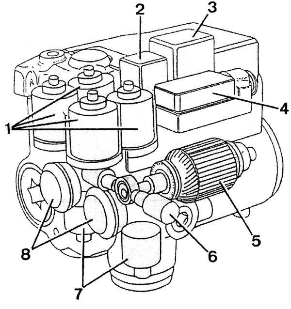 Электрогидравлический модулятор