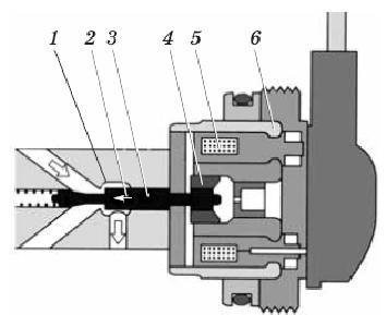 Электромагнитный клапан установки момента начала впрыскивания
