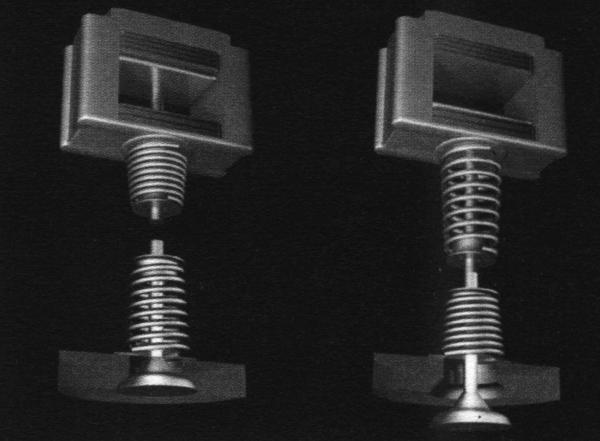 Электромагнитный привод клапанов фирмы Renault