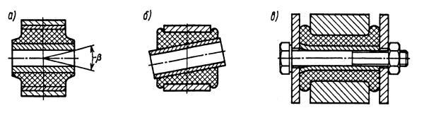 Опорные втулки элементов подвески