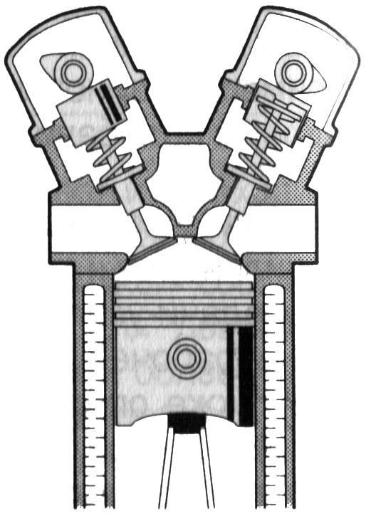 Privod cherez dva raspredelitelnyi vala s gidravlicheskimi tolkatelyami - Устройство грм ваз 2110