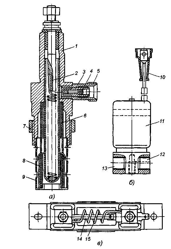 Электрофакельное устройство автомобилей КамАЗ