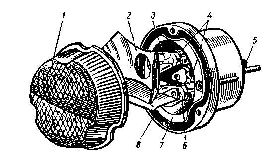 Передний фонарь автомобилей КамАЗ