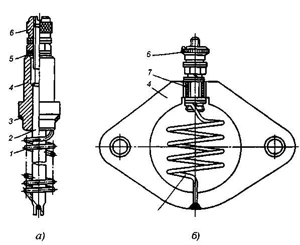 Свечи подогрева воздуха во впускном трубопроводе