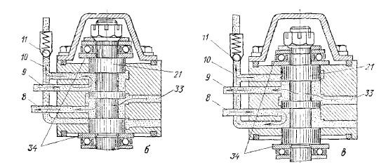Схема гидроусилителя рулевого управления трактора MT3-80
