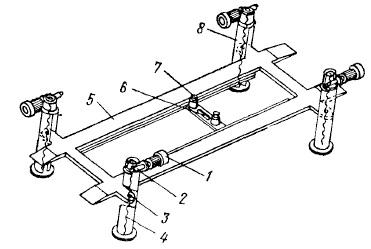 Электромеханический четырехстоечный подъемник ГАРО модели 448