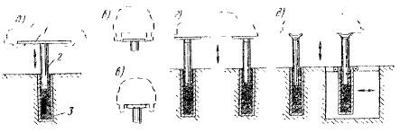 Схемы гидравлических подъемников плунжерного типа