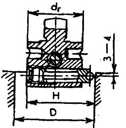 Совмещение оси цилиндра и шпинделя станка с помощью шариковой оправки